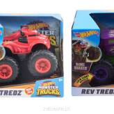 Hot Wheels Monster Trucks Pojazd 1:43 REV TREDZ FYJ71