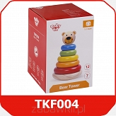 Tooky Toy MIŚ PIRAMIDKA TKF004