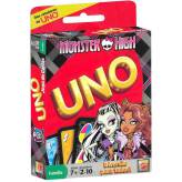 Gra UNO karty Monster High MATTEL T8233