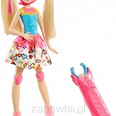 Mattel Barbie Video Game Hero Barbie Na Wrotkach Dtw17